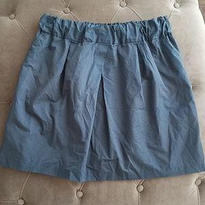 Banana Republic Large Skirt Blue Grey